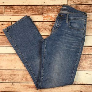 Old Navy Short Bootcut Mid-Rise Jeans